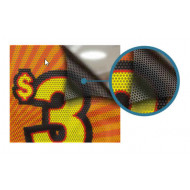 Window Perforated Stickers (One-Way Vision)  (1)
