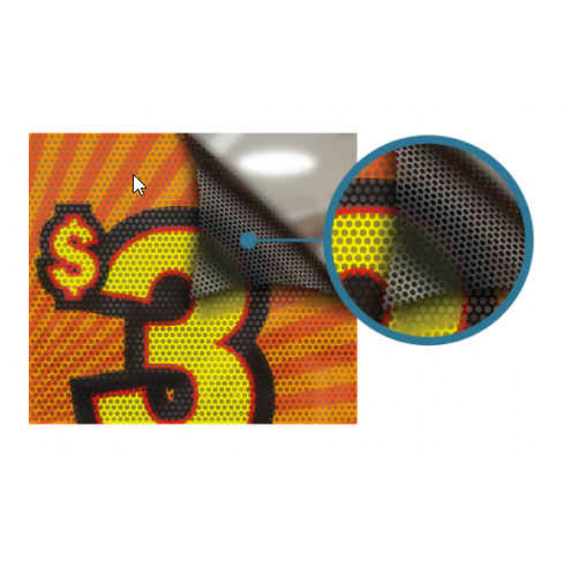 Window Perforated Stickers (One-Way Vision)