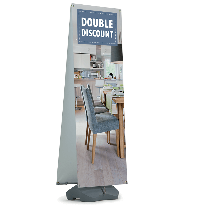 Double Side Outdoor Stand