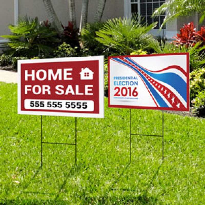Yard Signs (Coroplast)